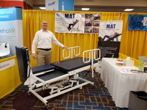 MAT table for physical therapy and rehab clinics