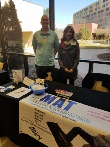 MPTA Conference 2019 with the MAT table