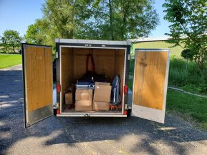 Our trailer containing the MAT table